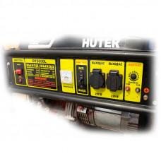 Бензогенератор Huter DY5000L