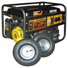 Бензогенератор Huter DY6500LX с колесами